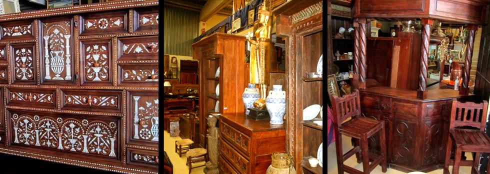 Muebles y antig edades la rueca venta de antiguedades for Muebles orientales antiguos